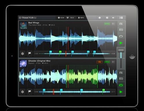 TRAKTOR DJ iPad