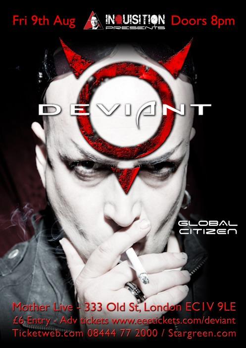 Deviant UK poster